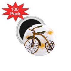Tree Cycle 1.75  Button Magnet (100 pack) by Contest1753604