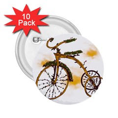 Tree Cycle 2.25  Button (10 pack) by Contest1753604