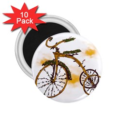 Tree Cycle 2 25  Button Magnet (10 Pack)