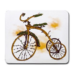 Tree Cycle Large Mouse Pad (rectangle)