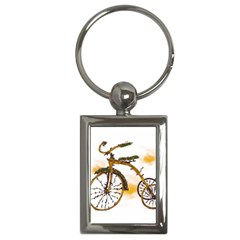 Tree Cycle Key Chain (rectangle) by Contest1753604
