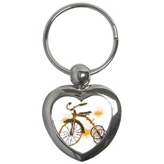 Tree Cycle Key Chain (heart) by Contest1753604