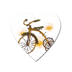 Tree Cycle Magnet (heart)