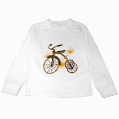Tree Cycle Kids Long Sleeve T Shirt by Contest1753604