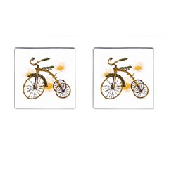 Tree Cycle Cufflinks (square) by Contest1753604