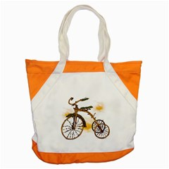 Tree Cycle Accent Tote Bag by Contest1753604