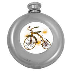 Tree Cycle Hip Flask (round) by Contest1753604
