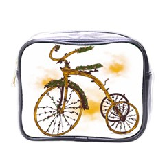 Tree Cycle Mini Travel Toiletry Bag (one Side)