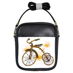 Tree Cycle Girl s Sling Bag by Contest1753604