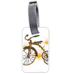 Tree Cycle Luggage Tag (two Sides) by Contest1753604