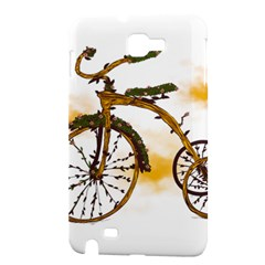 Tree Cycle Samsung Galaxy Note 1 Hardshell Case by Contest1753604
