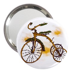 Tree Cycle 3  Handbag Mirror