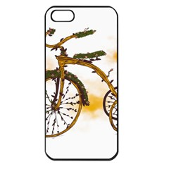 Tree Cycle Apple iPhone 5 Seamless Case (Black) by Contest1753604