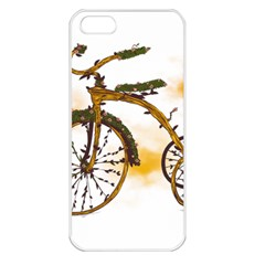 Tree Cycle Apple Iphone 5 Seamless Case (white) by Contest1753604