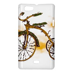 Tree Cycle Sony Xperia Miro Hardshell Case  by Contest1753604