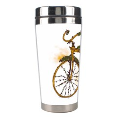 Tree Cycle Stainless Steel Travel Tumbler