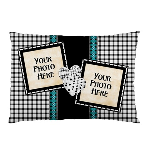Color Splash Pillowcase 4 By Lisa Minor   Pillow Case   P7qdbb5mypkd   Www Artscow Com 26.62 x18.9 Pillow Case