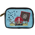 Learn Discover Explore Camera Case - Digital Camera Leather Case