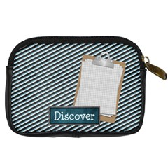 Learn Discover Explore Camera Case By Lisa Minor   Digital Camera Leather Case   2hlsl7mhfytv   Www Artscow Com Back