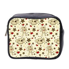Voodoo Pattern Toiletries   Mini By Stacey Jean   Mini Toiletries Bag (two Sides)   R3ihzehebsxj   Www Artscow Com Front