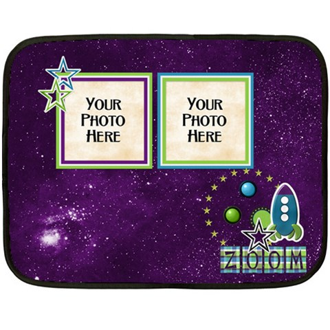 Space Blanket By Lisa Minor   Fleece Blanket (mini)   9tg1x21uni0x   Www Artscow Com 35 x27 Blanket