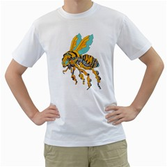 Bumblebot Mens  T Shirt (white) by Contest1741955