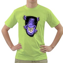 Hello   I m Purple Mens  T Shirt (green) by Contest1754937