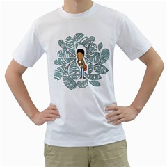 Cool Cool Cool Mens  T Shirt (white)
