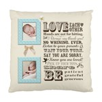 Family Love - Standard Cushion Case (One Side)