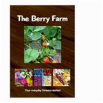 berry farm flag - Large Garden Flag (Two Sides)