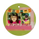 kids - Round Ornament (Two Sides)
