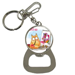 Pookiecat   Picatso  Bottle Opener Key Chain by PookieCat