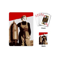 Power To The Masses Playing Cards (mini) by youshidesign