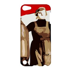 Power To The Masses Apple Ipod Touch 5 Hardshell Case by youshidesign