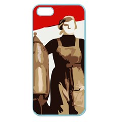 Power To The Masses Apple Seamless Iphone 5 Case (color) by youshidesign