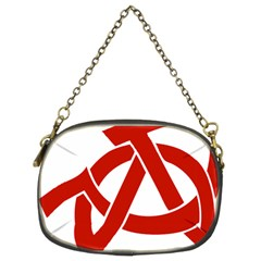 Hammer Sickle Anarchy Chain Purse (two Sided)  by youshidesign
