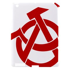 Hammer Sickle Anarchy Apple Ipad 3/4 Hardshell Case (compatible With Smart Cover) by youshidesign