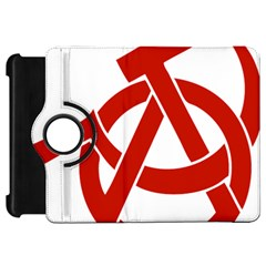 Hammer Sickle Anarchy Kindle Fire Hd 7  Flip 360 Case by youshidesign