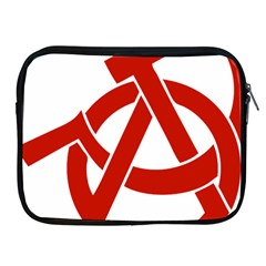 Hammer Sickle Anarchy Apple Ipad 2/3/4 Zipper Case by youshidesign