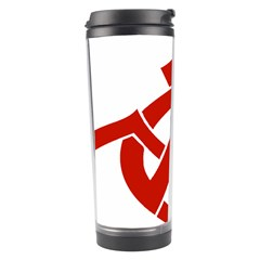 Hammer Sickle Anarchy Travel Tumbler by youshidesign