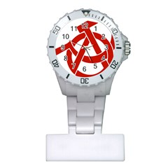 Hammer Sickle Anarchy Nurses Watch by youshidesign