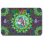 Butterfly Garden large doormat
