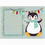 Penguin Christmas card 7x5 - 5  x 7  Photo Cards