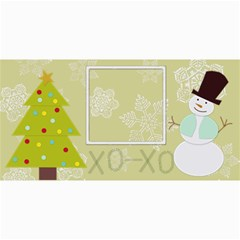 Xo Xo Christmas Card 4x8 By Zornitza   4  X 8  Photo Cards   Gwryvuk19i3x   Www Artscow Com 8 x4 Photo Card - 4