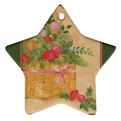 Oil Painting Star Ornament by Contest1717460