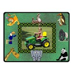 Kid s Zoo small blanket - Fleece Blanket (Small)