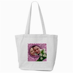 Love You Tote Bag By Deborah   Tote Bag (cream)   Ryh1dpmjog81   Www Artscow Com Front