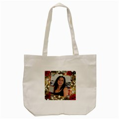 Love You Too Tote Bag By Deborah   Tote Bag (cream)   45ol28usb7ny   Www Artscow Com Front