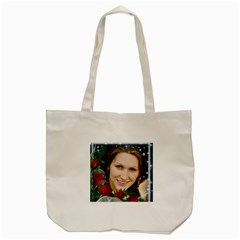 Rose Tote Bag By Deborah   Tote Bag (cream)   M28rpqljql89   Www Artscow Com Back