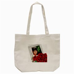 Red Roses Tote Bag By Deborah   Tote Bag (cream)   Xv2s2e2mk1g1   Www Artscow Com Front
